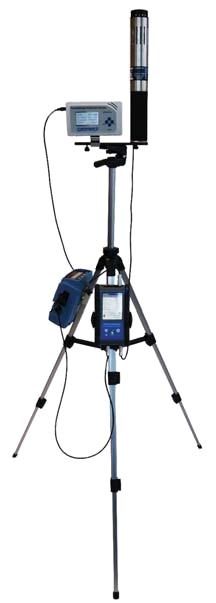 格雷沃夫空氣質量檢測係統(接入了FM801甲醛檢測儀)