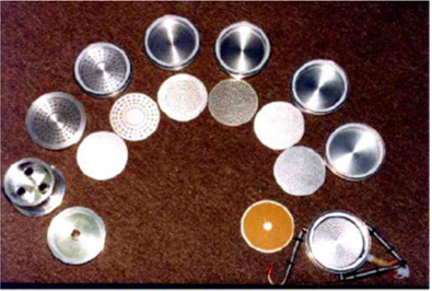 八级颗粒物采样器撞击盘